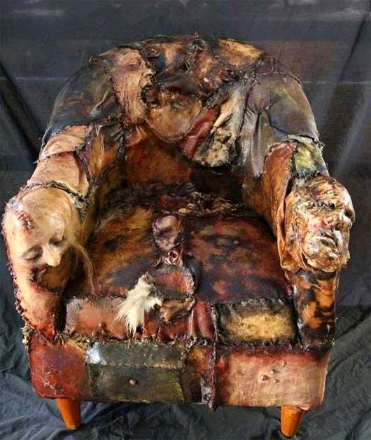 وحشتناک ترین صندلی جهان + عکس