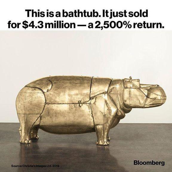 سود ۲۵۰۰درصدی یک وان حمام برای صاحبش!