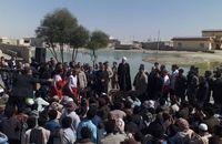 رئیس جمهور در جمع مردم روستای کلانی شهرستان سرباز حضور یافت