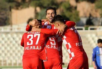 دیدار تیم های فوتبال سرخپوشان پاکدشت- آلومینیوم اراک
