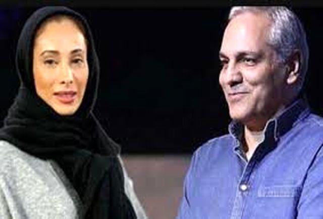 سحرزکریا باز هم مهران مدیری را به توپ بست