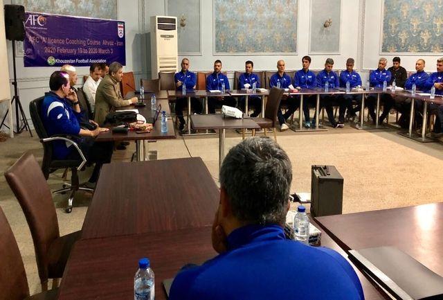برگزاری کلاس مربیگری A آسیا در قزوین