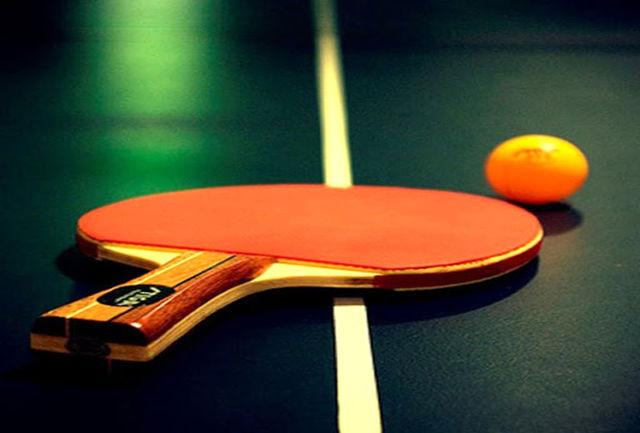 حضور اشتری در اردوی تیم ملی تنیس روی میز
