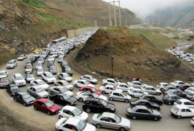 روزهای شلوغ جاده های استان