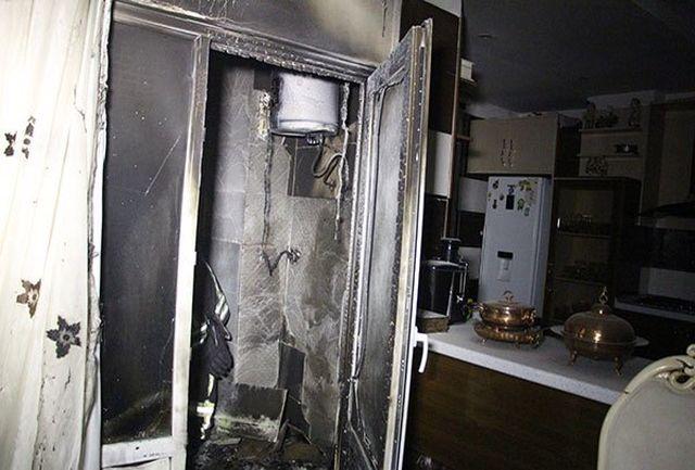 استفاده از پیک نیک در بالکن، منزلی را دچار حریق کرد