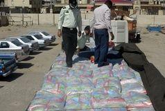کشف 33 تن برنج قاچاق در بندرخمیر