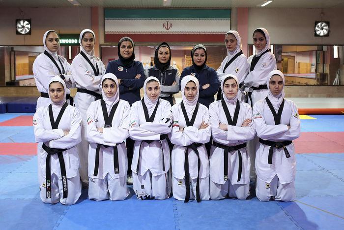ترکیب تیم ملی تکواندو زنان مشخص شد/ حضور ایران در مسابقات تیمی آسیا