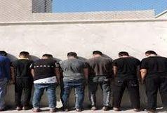 دستگیری ۱۲ خرده فروش مواد مخدر در مسجدسلیمان