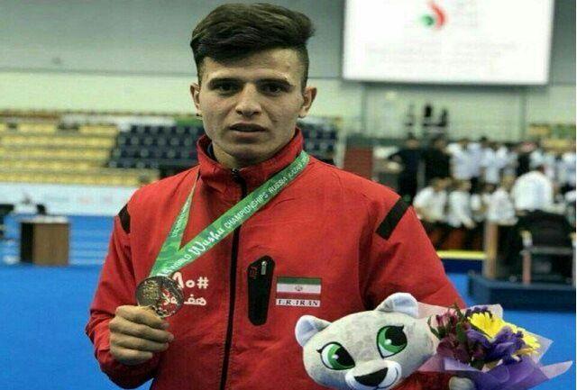 صبری نماینده ایران در مسابقات قهرمانی جهان