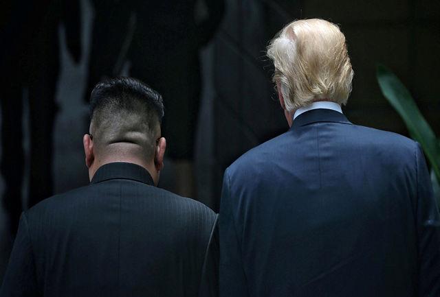 ویدئویی که ترامپ به رهبر کره شمالی نشان داد