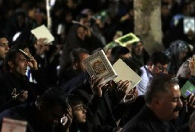 مراسم احیای شب های قدر در مصلی قدس زاهدان برگزار شد