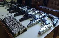 کشف ۴۵ قبضه سلاح کمری قاچاق از یک خودرو در مسیر ارومیه- تبریز