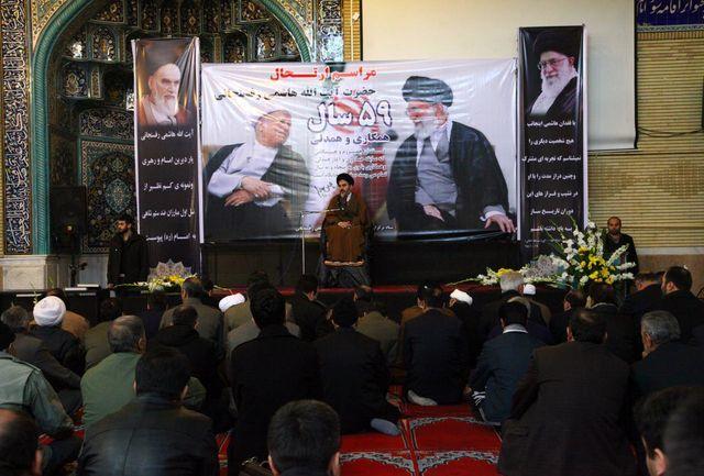 آیت الله هاشمی نقش پررنگی در دوران قبل و بعد انقلاب داشتند
