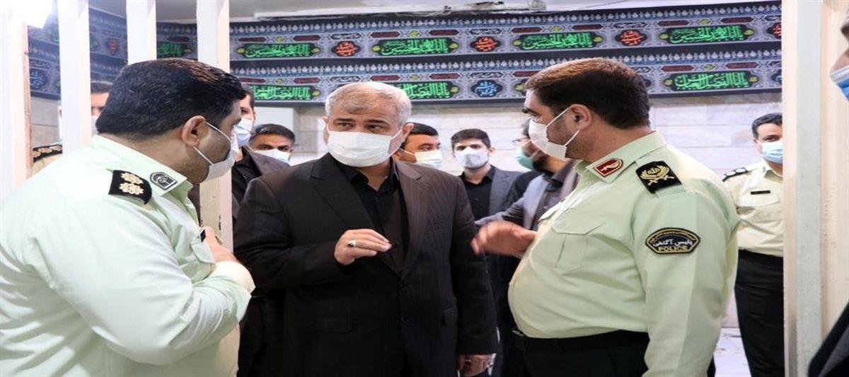 بررسی وضعیت بازداشتگاه آگاهی تهران توسط دادستان و هیات همراه