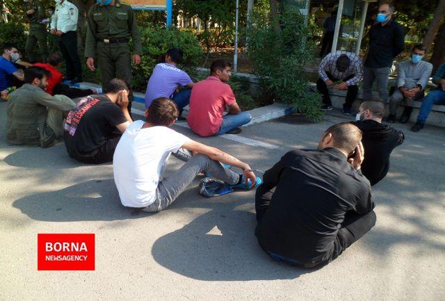 بازداشت یک نفر از دانشجویان دانشگاه امیرکبیر/ قدرت نمایی اراذل و اوباش در فضای مجازی کار دستشان داد