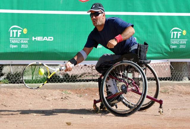 تیم ملی تنیس با ویلچر در سریلانکا