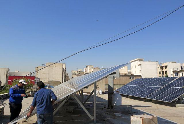 پیشرفت 80 درصدی نیروگاه خورشیدی