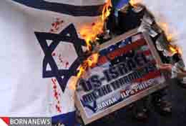 قطع سخنرانی مقام اسراییلی توسط دانشجویان یهودی