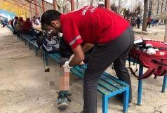 امدادرسانی به مصدوم ۴۰ ساله در ارتفاعات شمیرانات