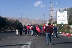 ترافیک سنگین در تمام محورهای منتهی به ورزشگاه آزادی +عکس
