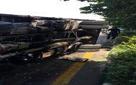 تصادف وحشتناک در اتوبان چمران تهران