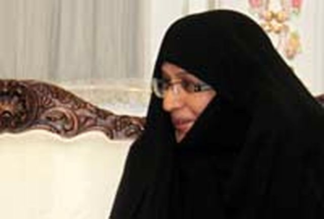 دیدار همسر رئیس جمهوری ایران با همسر رئیس جمهوری گینه بیسائو
