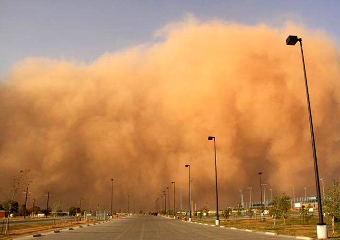 تهران غبار آلود میشود