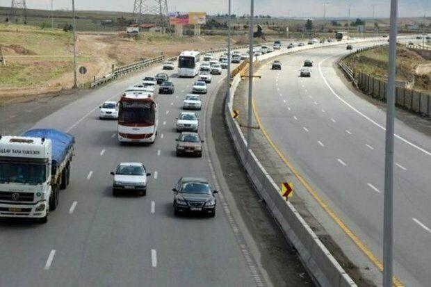 ۲۵ میلیون تردد در محورهای مواصلاتی استان قزوین به ثبت رسید