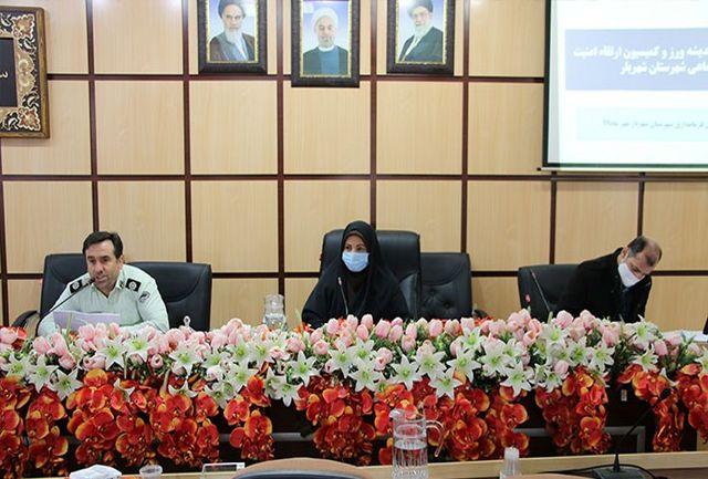جلسه هیات اندیشه ورز و کمیسیون امنیت اجتماعی و اخلاقی شهرستان شهریار