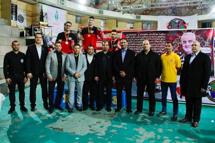 اولین دوره مسابقات IKF کیک بوکسینگ ایران
