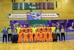 مس کرمان صدرنشین لیگ برتر هندبال ایران