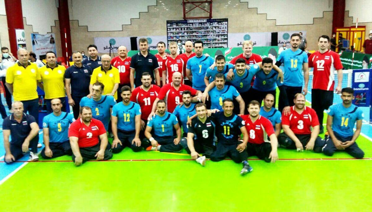 پیروزی والیبال نشسته ایران برابر روسیه