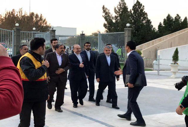 حضور سلطانیفر و صالحیامیری در ورزشگاه آزادی
