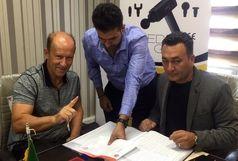 کالدرون قرارداد خود را با باشگاه پرسپولیس رسما امضا کرد