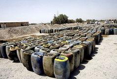 کشف ۵۰ هزار لیتر سوخت قاچاق در بم