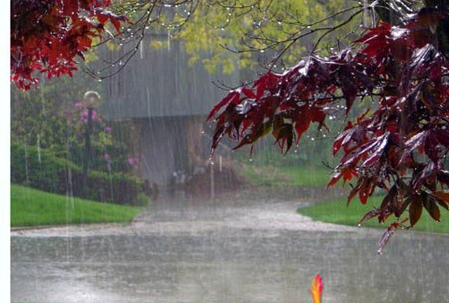 آسمان استان قزوین تا ظهر فردا بارانی است