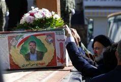 شهید حادثه تروریستی در بروجن تشییع شد