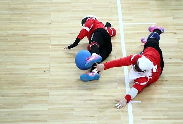 شکست تیم ملی گلبال بانوان مقابل چین و ژاپن