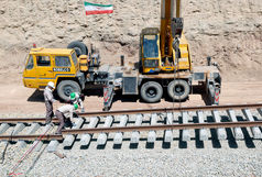 ریلگذاری راهآهن چابهار-زاهدان آغاز شد