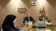برگزاری جلسه آنلاین فخری و فتاحیان با مسئولین کمیته برگزار کننده بازیهای المپیک 2020