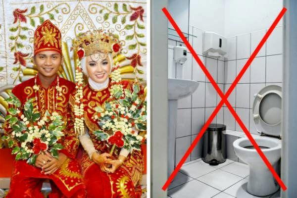 رسومات عجیب ولی واقعی ازدواج در برخی کشورها