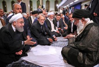 دیدار مسئولان و کارگزاران نظام با رهبر انقلاب