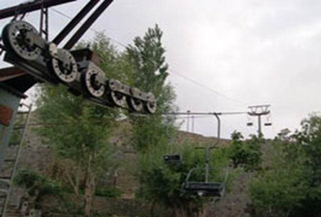 تنها تله سییژ سمنان در پارك كوهستان شهمیرزاد آغاز بهكار كرد