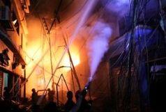 کشته شدن ۷۰ نفر در آتشسوزی مهیب محله تاریخی داکا