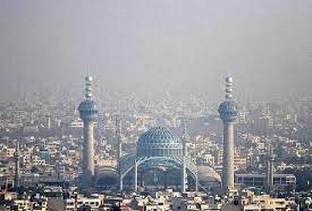 هوای اصفهان امروز ناسالم است/ افراد حساس از خانه خارج نشوند