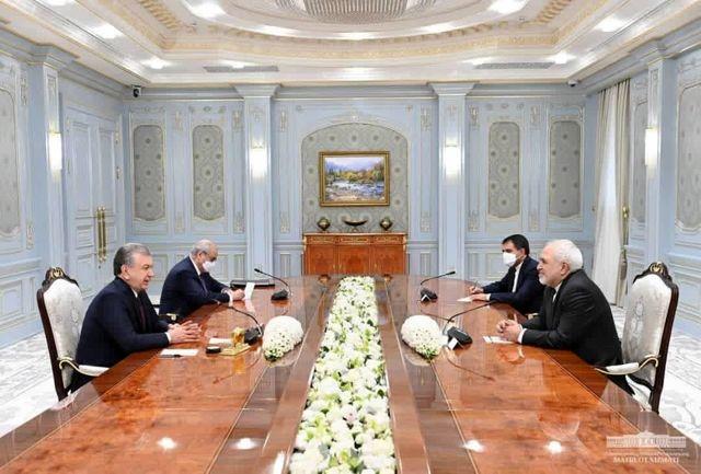 ظریف دیدار با مقام های ازبکستان را «پرثمر» خواند