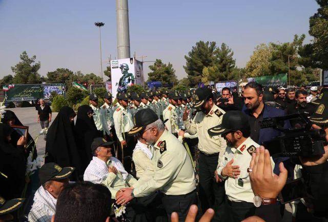 تجدید میثاق عوامل پلیس راهنمایی و رانندگی با آرمانهای امام راحل(ره)