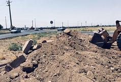 اصلاح هندسی ورودی ناحیه منفصل شهری دانش و محله ناصرآباد
