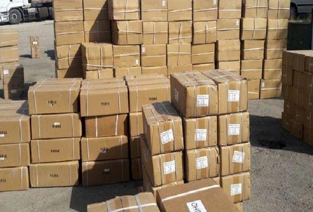 حمل ۱۰۰ میلیون تومان کالای قاچاق با ۴ دستگاه اتوبوس