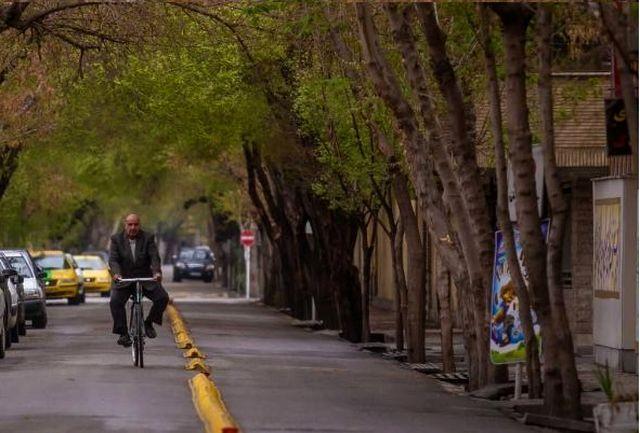 هوای آخر هفته اصفهان سالم است